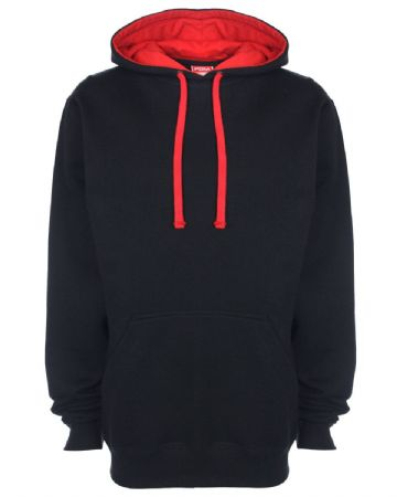CAITHNESS LADIES FC CONTRAST HOODIE WITH EMBROIDERED LOGO
